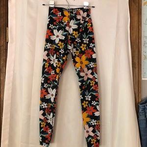 Nike floral leggings